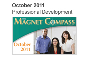 October 2011, Professional Development Magnet Compass Issue