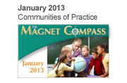January 2013, Communities of Practice Magnet Compass Issue